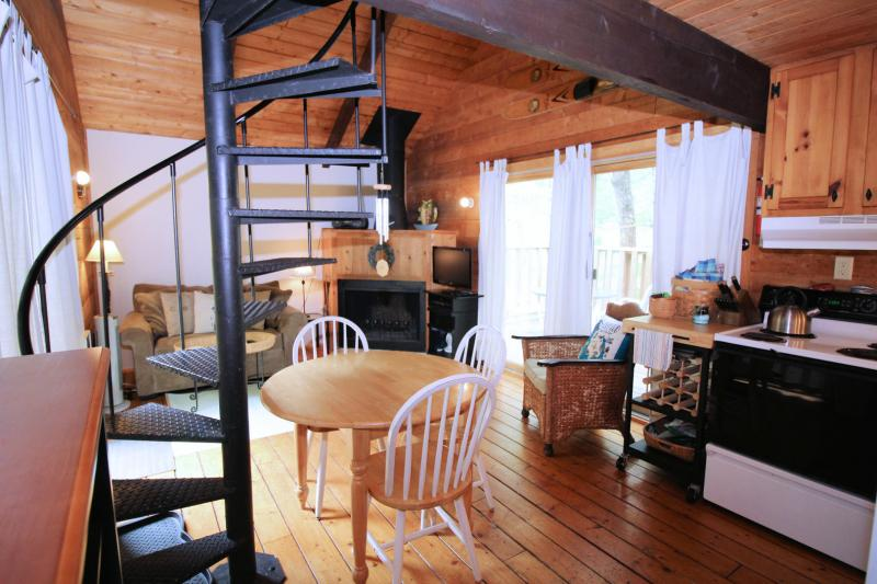 Cottage has an open main living space