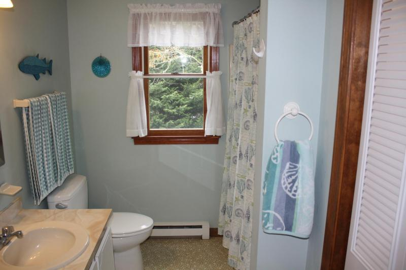 Upper Level Hall Bathroom with Tub