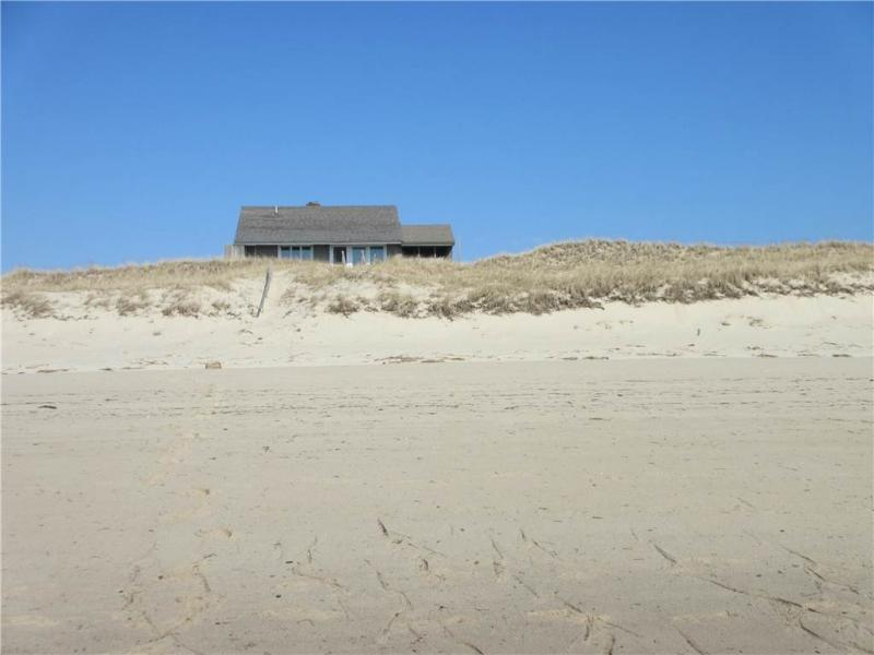 House as seen from the beach